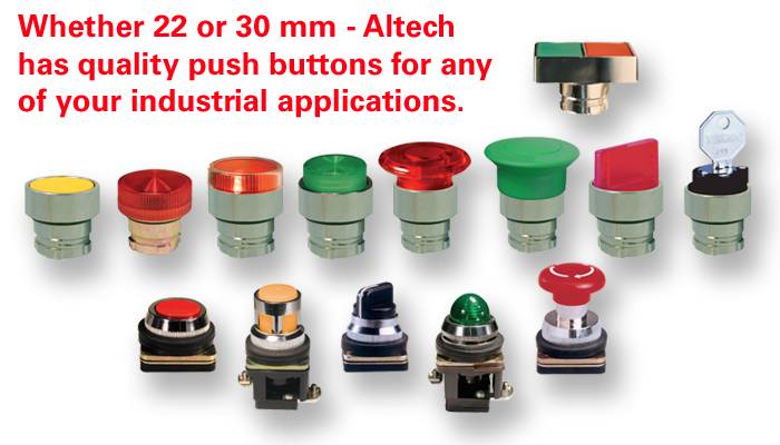 Altech Push Buttons